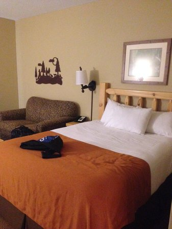 Great Wolf Lodge New England: Adult sleeping area