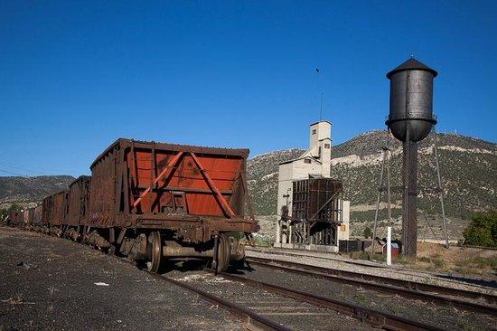 Nevada Northern Railway Museum: Railroad Depot