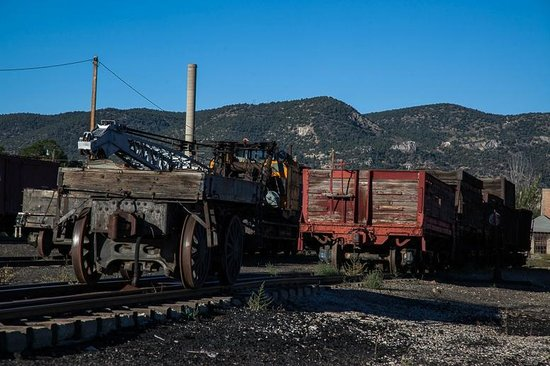 Nevada Northern Railway Museum: Railroad Yard