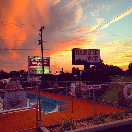 Timberlake Motel Lynchburg Pool
