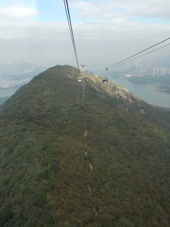 Lantau Island : View from the cable car
