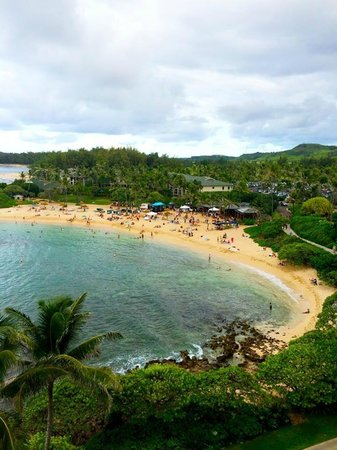 Turtle Bay Resort: View from the lanai