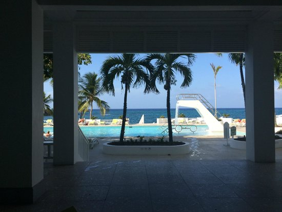 Couples Tower Isle: View from Pool Grill
