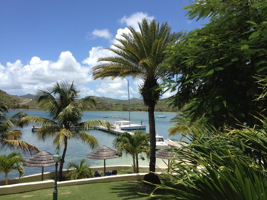 St. James's Club & Villas: view from our Royal Suite
