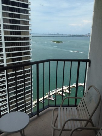 Miami Marriott Biscayne Bay: From my room