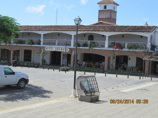 Hotel Granada: vista de la fachada del hotel