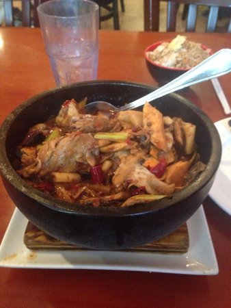 Peter Chang's China Cafe : Duck with fried rice