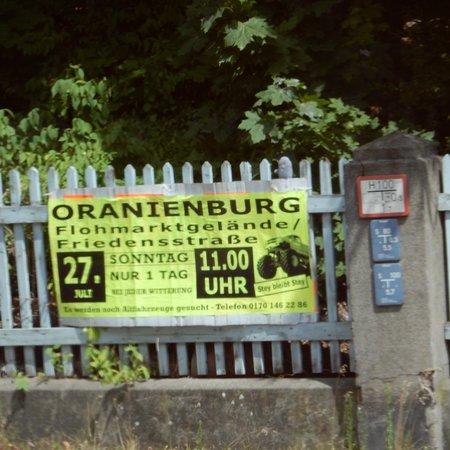Sachsenhausen Concentration Camp: Sign