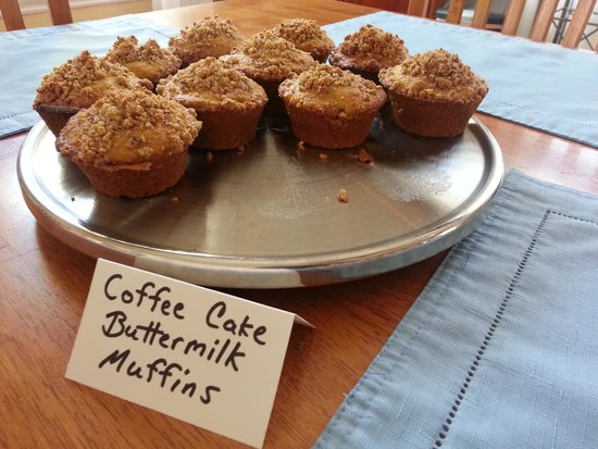 Admiral's Landing: fresh home baked goodies from Robyn ever morning