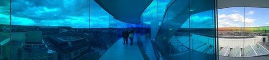 ARoS Aarhus Kunstmuseum : Panorama picture.