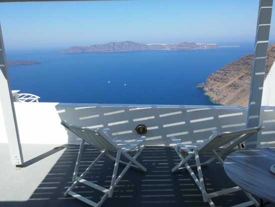 Cliff Side Suites : View from our balcony