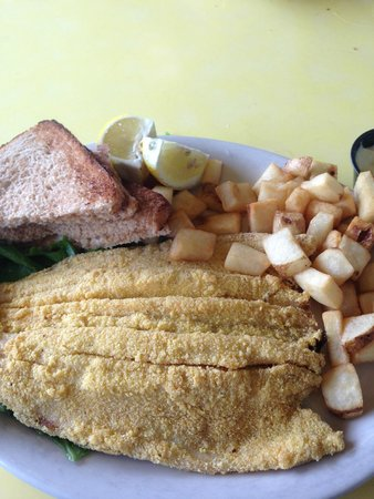 Claire's on the Park: Trout Breakfast