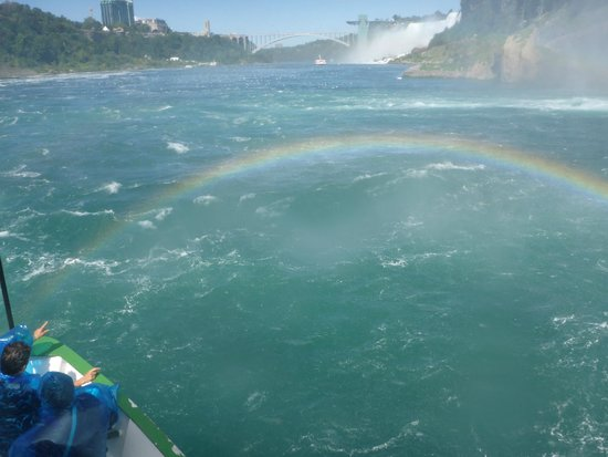 Maid of the Mist: After the baptism from Mother Earth
