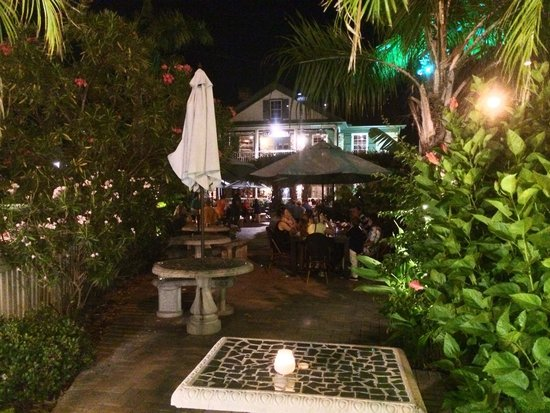O.C. White's Seafood & Spirits : Sitting at the last table on the patio!
