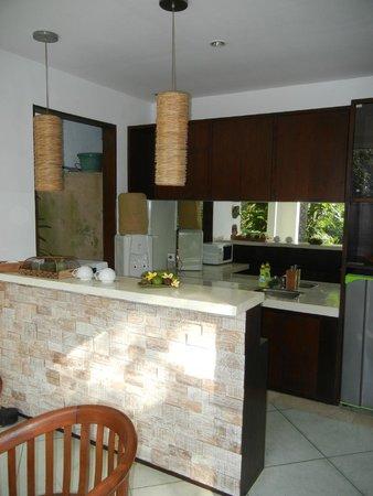 The Luku Boutique Villa & Gallery: Villa Yudhistra - Outdoor Kitchen