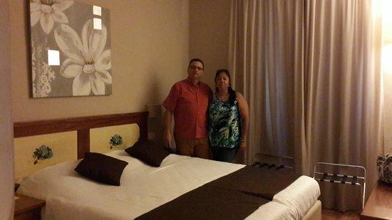 Hotel Sempione: Llegados al Hotel