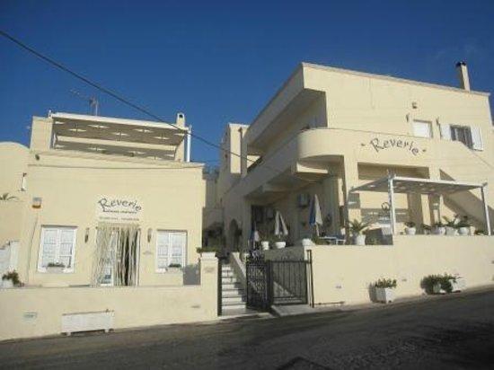 Reverie Santorini Hotel: From Across the Street