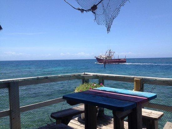 Gio's Restaurant: Vista dal ristorante
