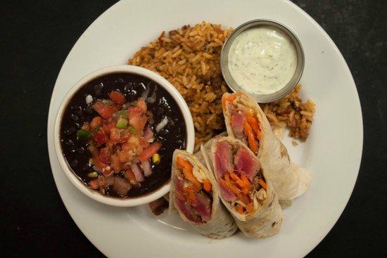 Dead Fish Grill: Ahi Tuna Tacos