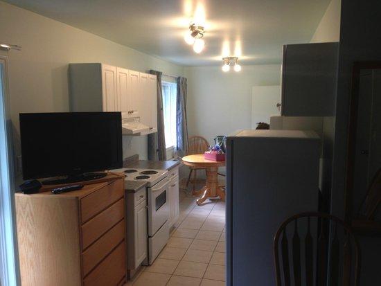 New Horizon Motel: Kitchen section