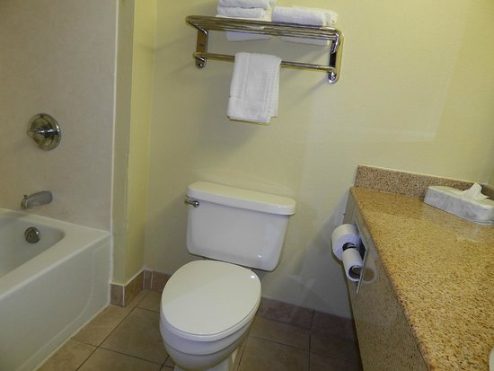 Super 8 Dandridge: Very clean bathroom