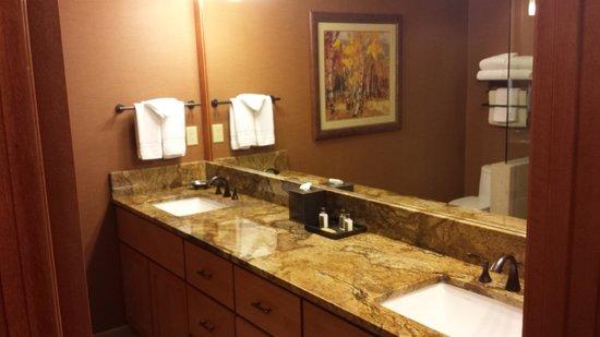 Wyoming Inn of Jackson Hole: Large bathroom