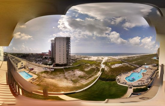 Phoenix VIII: My attempt at a Panoramic view from the balcony