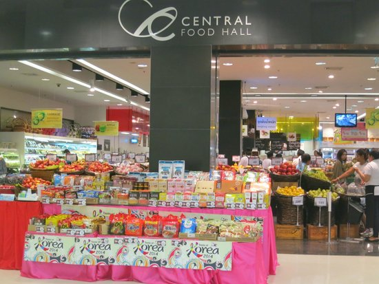 CentralFestival Phuket: スーパーも品揃え豊富