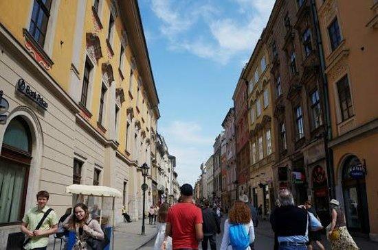 Ulica Florianska: 通り