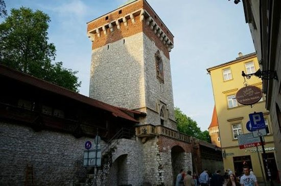 St. Florian's Gate (Brama Florianska) : 門