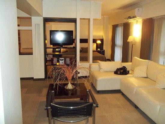 Montanas Azules Apart Hotel : Vista habitación