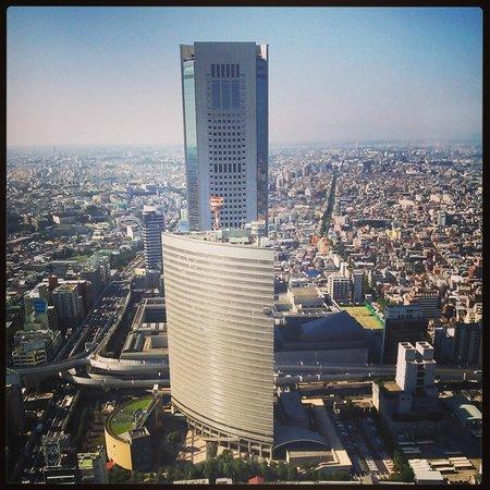 Park Hyatt Tokyo : 残念ながら今回は西側の眺めでした