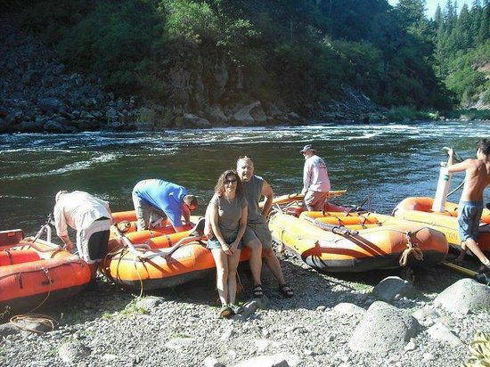 Noah's River Adventures: preparing for the ride