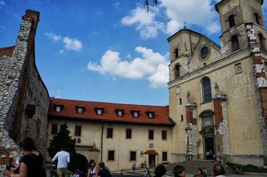 Benedictine Abbey of Tyniec: 外観