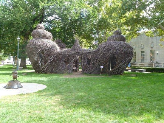 Sapling Sculpture In The Garden Picture Of Dr Seuss National Memorial Sculpture Garden