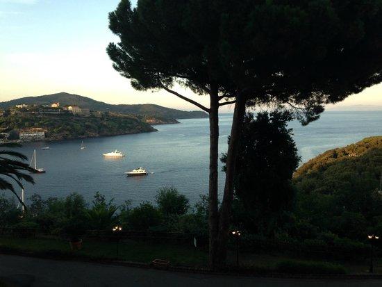 Grand Hotel Elba International: Vista dalla camera