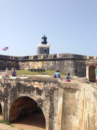 Segway Tours of Puerto Rico: El Morro stop on tour