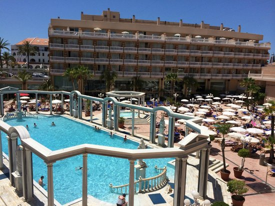 Cleopatra Palace Hotel: Вид с номера