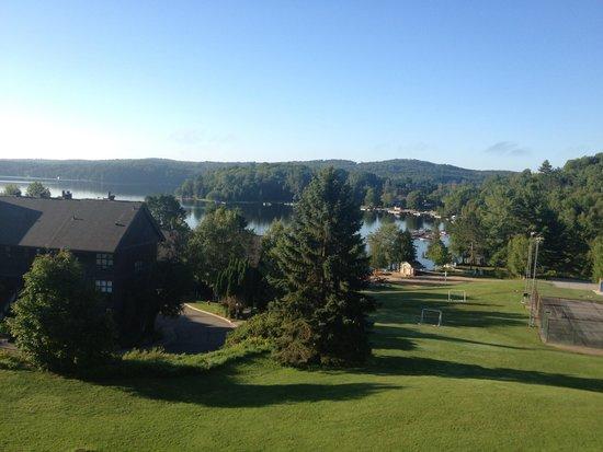 Hidden Valley Resort: View from lakefron room