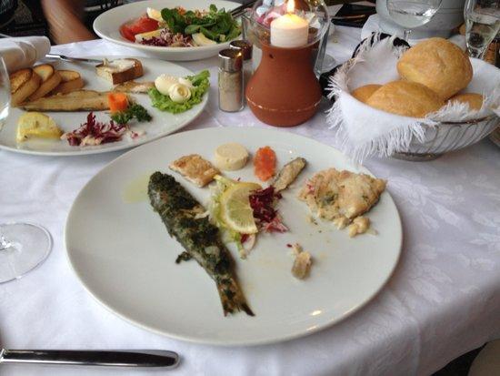 Ristorante La Punta : рыбное ассорти закуска