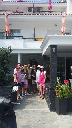 Hotel Kassiani: Devant