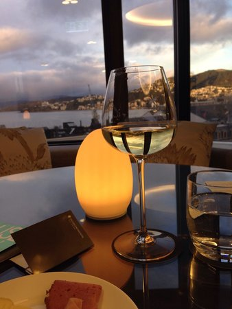 InterContinental Wellington: Beautiful view from the executive lounge, on level 7