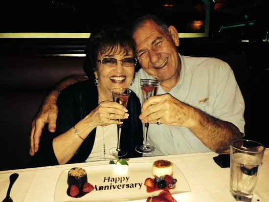 The Capital Grille: The Lovely Anniversary Dessert
