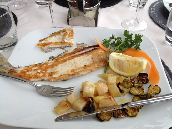 Ristorante Silvio: речная рыбка
