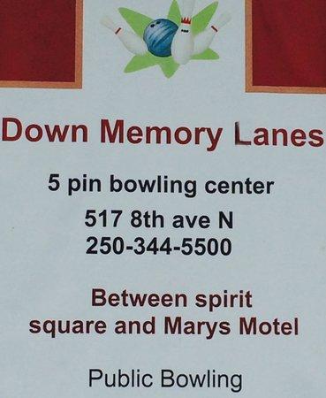 Down Memory Lanes Bowling Centre