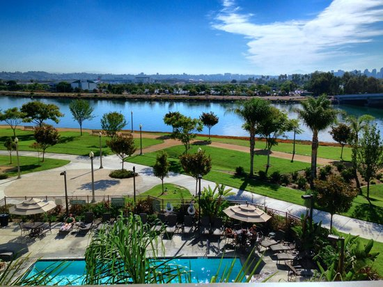 Homewood Suites by Hilton San Diego Airport - Liberty Station: View from my room on the balcony