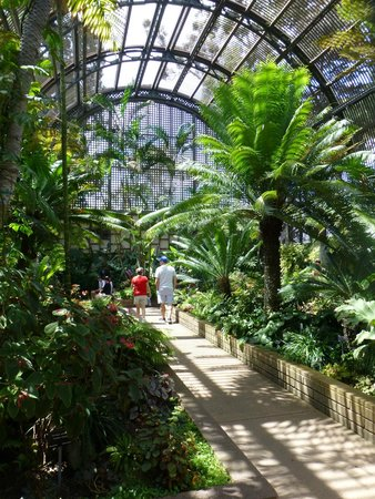 Botanical Building and Lily Pond: Quiet, pleasant retreat