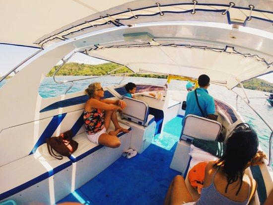 Conrad Koh Samui: Boat trip