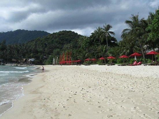 Anantara Rasananda Koh Phangan Villas: Anantara Strand