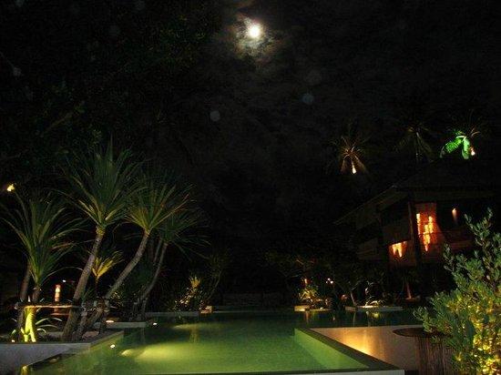 Anantara Rasananda Koh Phangan Villas: Poll bei Vollmond